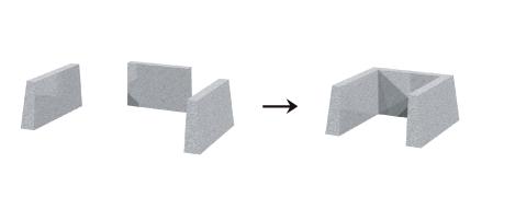 合わせ型構造